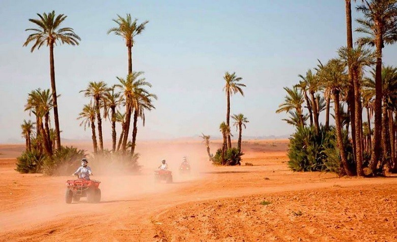 Excursion quad Marrakech